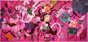 明るい色 かたちと色彩の饗宴 馬場まり子展 @ NSG美術館